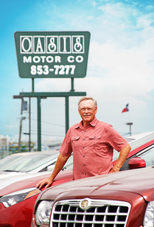 New website new free warranty at oasis motor co for Oasis motors corpus christi