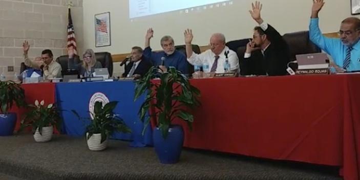 portland-gregory school board votes
