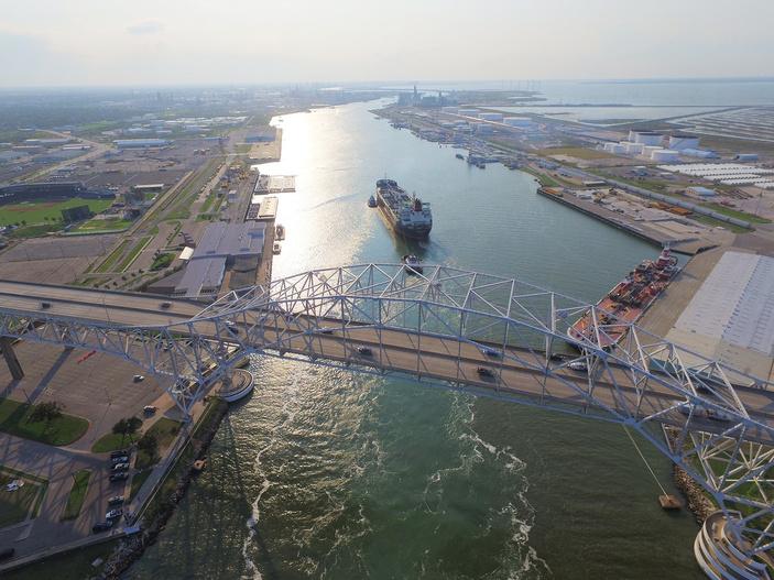 port of corpus christi thrives energy milestones