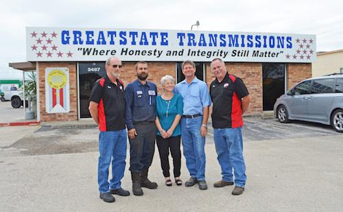 greatstate transmission, corpus christi