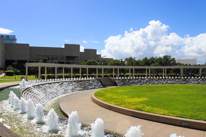 Water Garden Fountains, Corpus Christi
