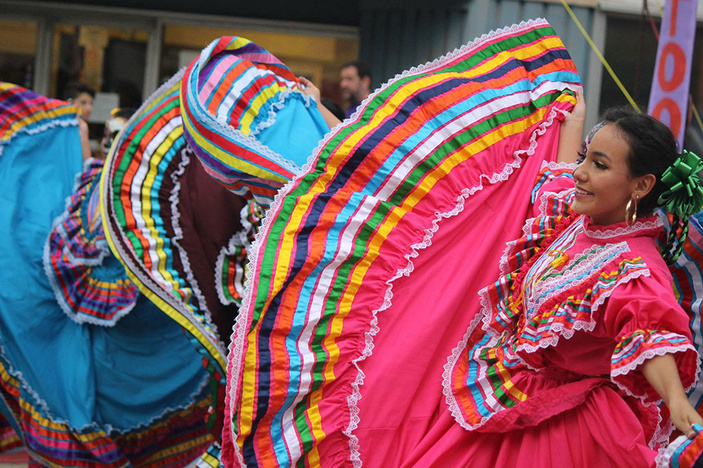 Ballet Folklorico at the Institute de Cultura Hispanica