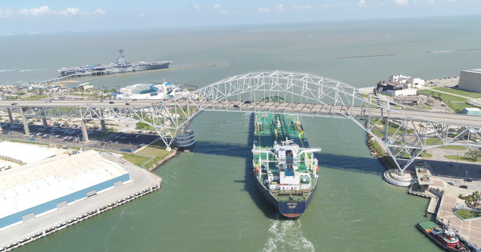 super sized ship sales port of corpus christi