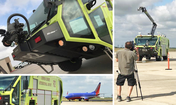 corpus christi airport comes to the rescue new safety equipment