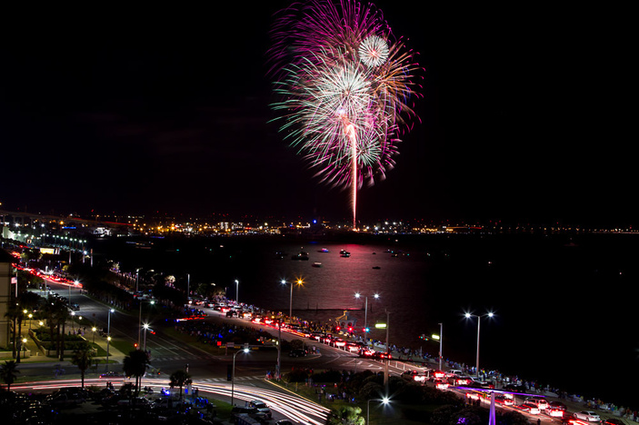Where to Watch the Corpus Christi 4th of July Fireworks
