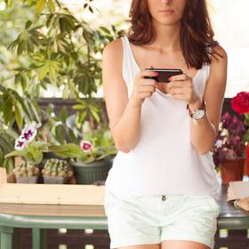 gardening by smart phone