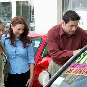 used car shopping