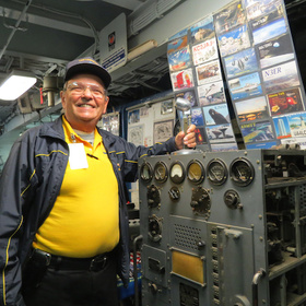 Uss lexington chuck hoffman