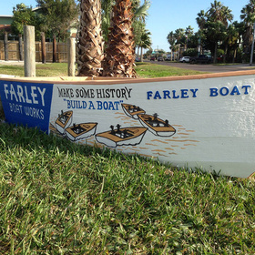 Farley Boat Works in Port Aransas