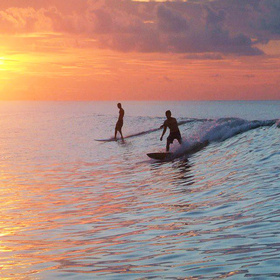 Surfing in Corpus Christi