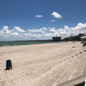McGee Beach, Downtown Corpus Christi