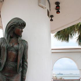 Selena Memorial Statue Corpus Christi