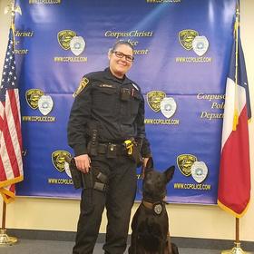 corpus christi police foundation ccpd dog