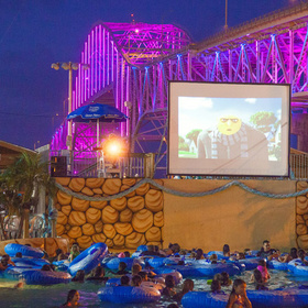 Dive-In Movies at 2 Corpus Christi Waterparks