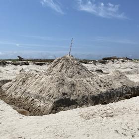 Clean Dark Flat campaign at Padre Island National Seashore