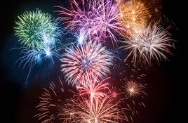Corpus Christi Fireworks New Year's Eve