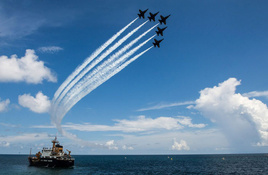 Blue Angels to Soar Over Buc Days 2021