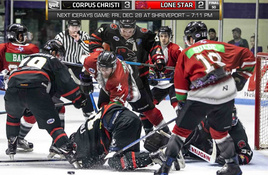 Corpus Christi IceRays Return to Home Ice Jan. 11