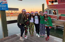Christmas in Port A Means Palm Trees and Pirates