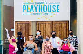 Curbside Cocktails & Characters at Harbor Playhouse in Corpus Christi