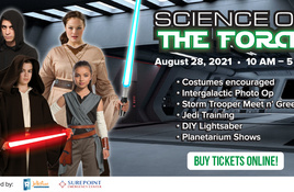 Space out at Science of the Force in Corpus Christi