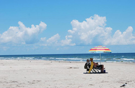 Padre Island National Seashore offers pristine, undeveloped beaches