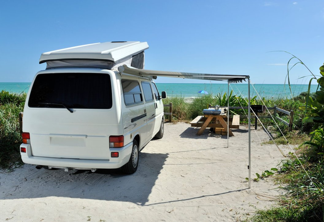 Park your RV by the Sea