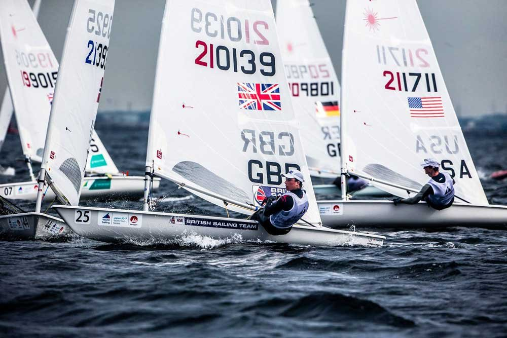 Youth World Championship Sails into Corpus Christi