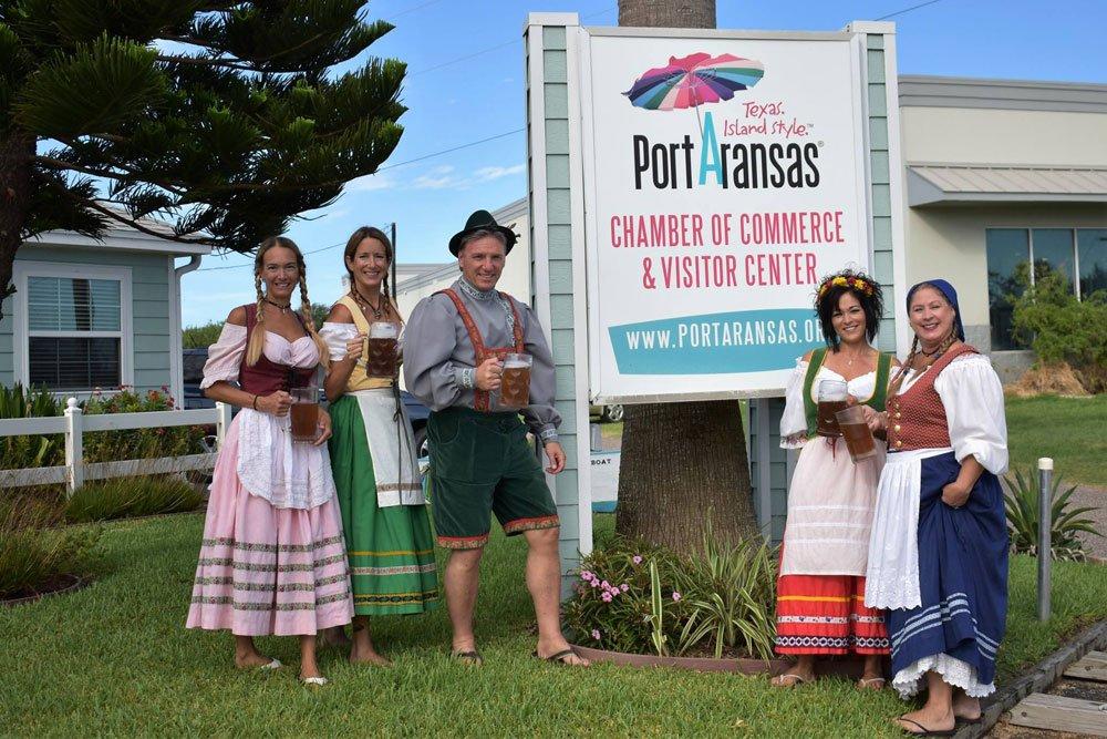 Beachtoberfest in Port Aransas
