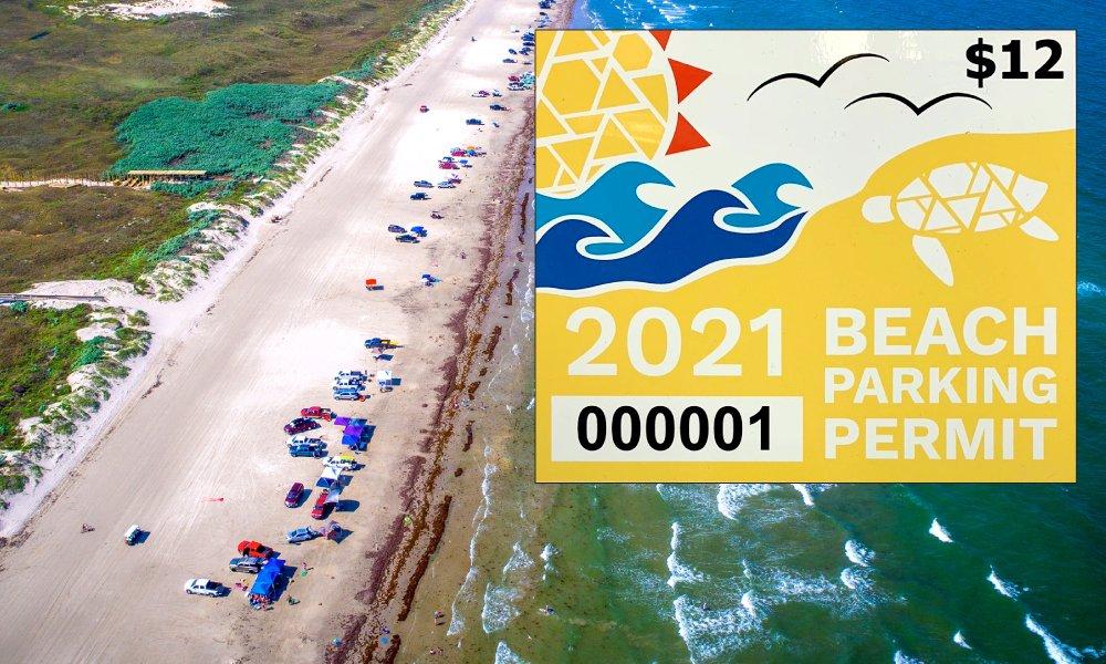 2021 Beach Parking Permits on Sale in Corpus Christi