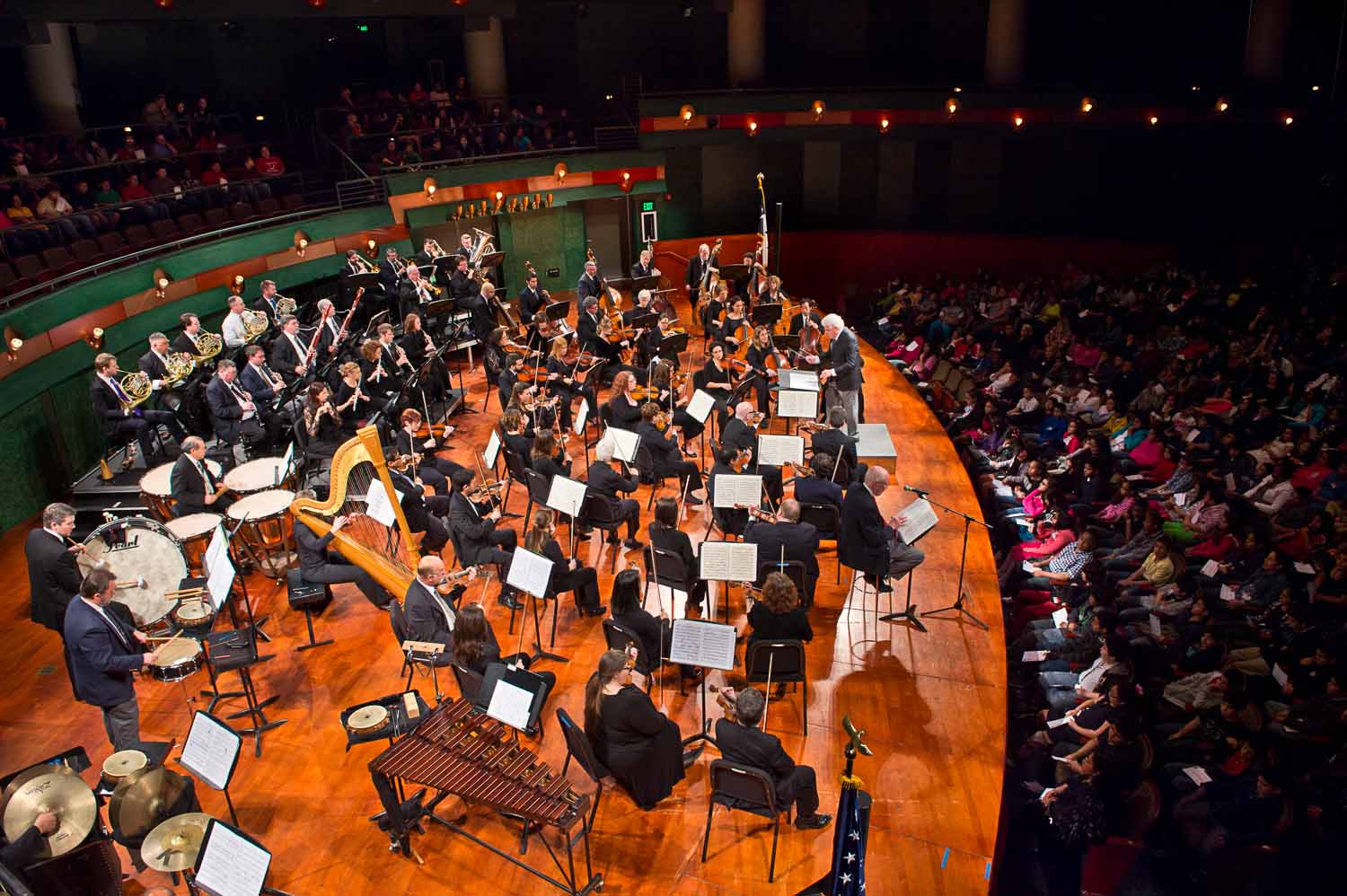 The Corpus Christi Symphony Orchestra auditions maestro applicants live throughout the 2016-17 season. Courtesy photo