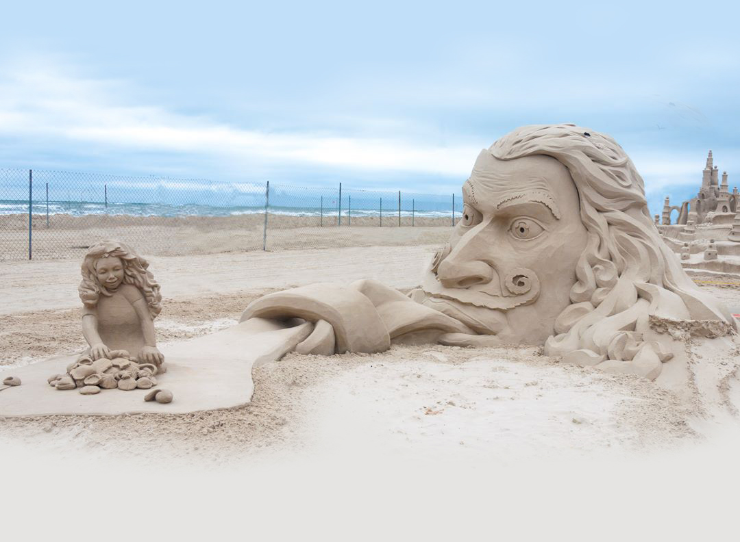 sandfest sculpture 2016 winner