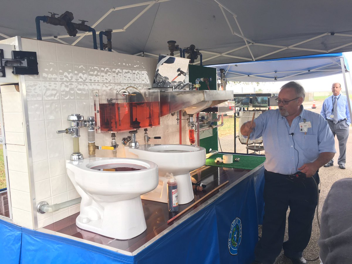corpus christi backflow demonstration