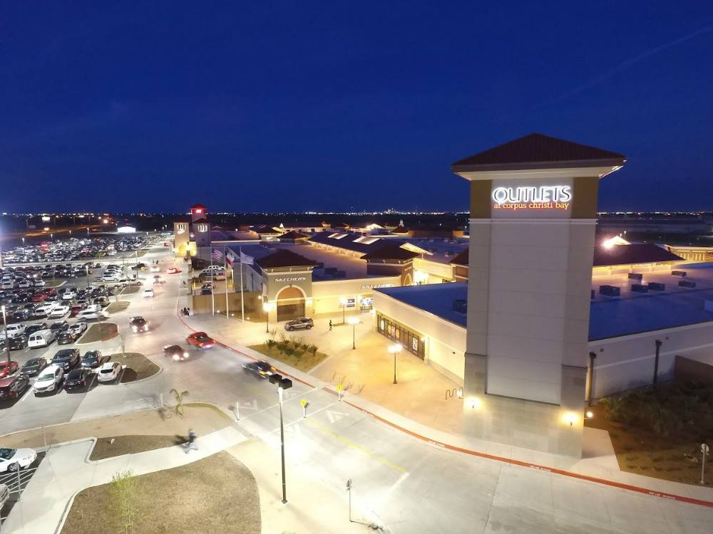 The Outlets Malls at Corpus Christi Bay feature a full-line to designer fashions, jewelry, and household decor. The outlet mall is located at the intersection of Interstate 69 and Texas 44 (500 U.S. 77 North) in Robstown. Courtesy Photo